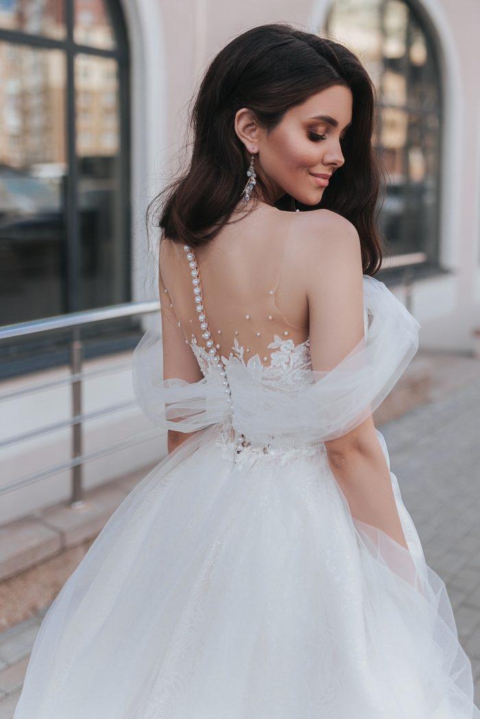 Aliceадебное платье с воздушными рукавами Alice