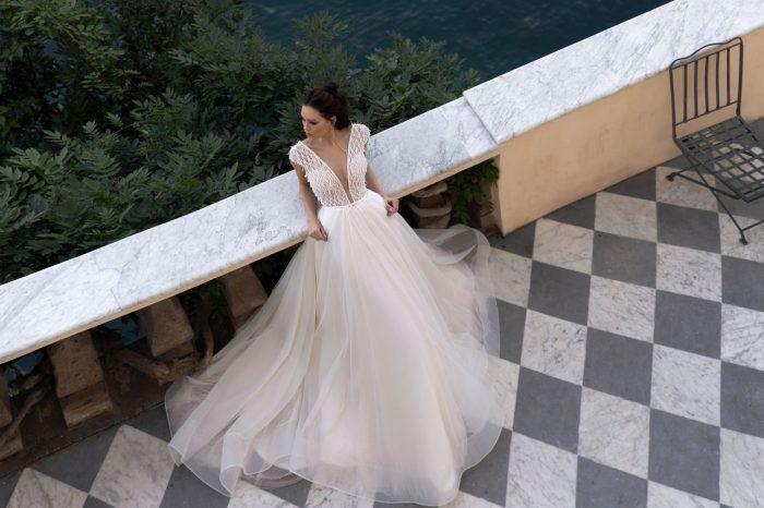 лёгкое свадебное платье для лета
